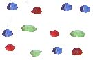 "Diamantes 1/4"" - Pack of 100"